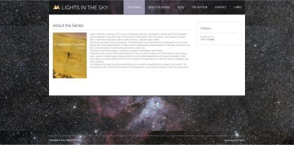 Lights In the sky.co.uk - Book Promotion