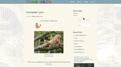 Moggyblog.com Design